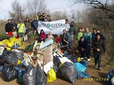 Limpieza del Henares por Ecologistas en Acción-Alcalá