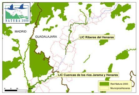 Información Pública planes de gestión Red Natura 2000 del Henares en Madrid