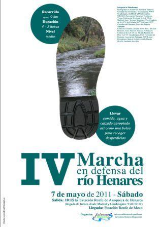 IV Marcha del Henares, 7 de Mayo, Azuqueca-Meco