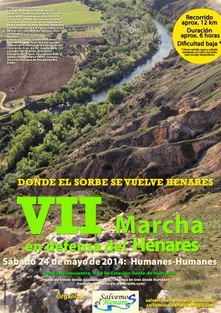 VII Marcha en Defensa del Henares Sábado 24 Mayo